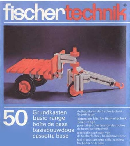 fischertechnik 50s Series Manuals and Model Instructions