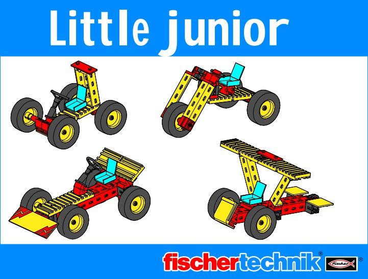 fischertechnik Junior Series Manuals and Model Instructions