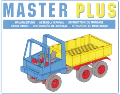 fischertechnik Master Plus Manuals and Model Instructions